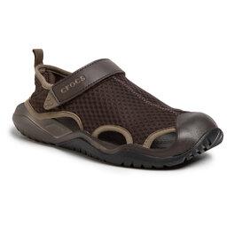 Crocs Босоніжки Crocs Swiftwater Mesh Deck Sandal M 205289 Espresso