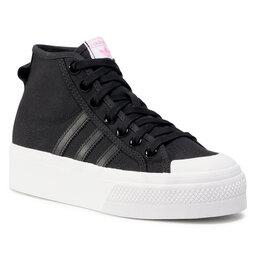 adidas Взуття adidas Nizza Platfrom Mid W FY7579 Cblack/Ftwwht/Scrpnk