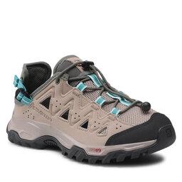 Salomon Трекінгові черевики Salomon Alhama W 410361 21 V0 Vintage Khaki/Vintage Kaki/Icy Morn