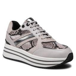 Geox Laisvalaikio batai Geox D Kency B D16QHB 04185 C5M1J Dk Beige/Ice