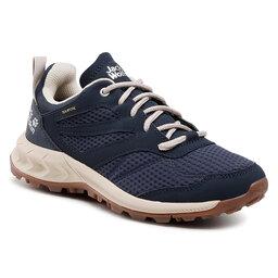 Jack Wolfskin Трекінгові черевики Jack Wolfskin Woodland Texapore Low W 4039241 Dark Blue/Beige