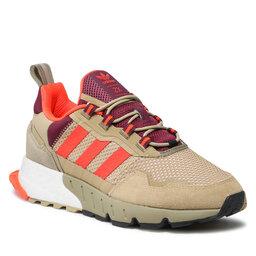 adidas Взуття adidas Zx 1k Boost - Seasonality H00429 Beige Tone/Solar Red/Victory Crimson