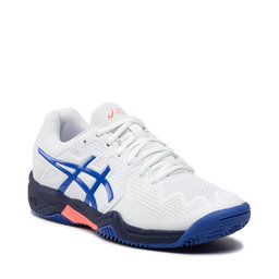Asics Взуття Asics Gel-Resolution 8 Clay Gs 1044A019 White/Lapis Lazuli Blue 107