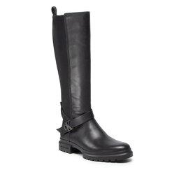 Calvin Klein Jeans Jojikų batai Calvin Klein Jeans Cleated High Boot W Buckle YW0YW00423 Black BEH