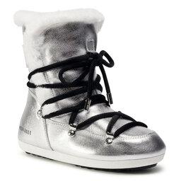 Moon Boot Снігоходи Moon Boot Dk Side High Shearling 24300100001 Silver