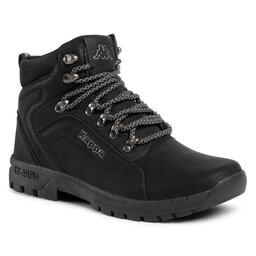 Kappa Žygio batai Kappa Dolomo 242752 Black/Grey