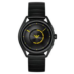 Emporio Armani Смарт годинник Emporio Armani Matteo ART5007 Black