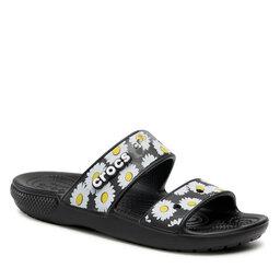 Crocs Шльопанці Crocs Classic Crocs Vacas 207284 Black/Daisy