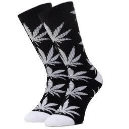 HUF Ilgos Unisex Kojinės HUF Essentials Plantlife Sock SK00298 r.OS Black