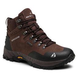 Bergson Трекінгові черевики Bergson Semien Mid Stx Brown