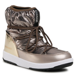 Moon Boot Снігоходи Moon Boot Jrgirl Low Nylon Premium Wp 34052300001 D Platinum