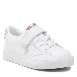 Polo Ralph Lauren Laisvalaikio batai Polo Ralph Lauren Theron IV Ps RF102988 White/Rose Metal