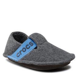 Crocs Тапочки Crocs Classic Slipper K 205349 Slate Grey