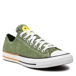 Converse Sportbačiai Converse Ctas Ox 167663C Cypress Green/Zinc Yellow