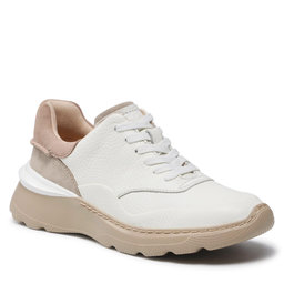 Clarks Laisvalaikio batai Clarks SprintLiteLace 261583684 White Combi Leather