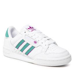 adidas Batai adidas Continental 80 Stripes W H04020 Ftwwht/Glrgrn/Sonfuc