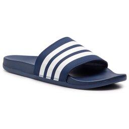 adidas Шльопанці adidas adilette Comfort B42114 Dk Blue/Ftwwht/Dk Blue