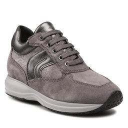 Geox Laisvalaikio batai Geox D Happy B D1662B 0PZ22 C9002 Dk Grey