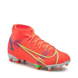 Nike Batai Nike Superfly 8 Academy FG/MG CV1127 600 Bright Crimson/metallic Silver