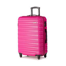 Wittchen Середня тверда валіза Wittchen 56-3A-312-34 Рожевий