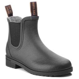 Tretorn Гумові чоботи Tretorn Chelsea Classic Wool 473417 Black 10