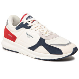 Pepe Jeans Снікерcи Pepe Jeans Park Air 0.2 PMS30737 Off White 803