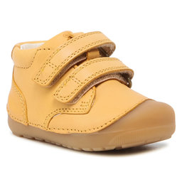 Bundgaard Туфлі Bundgaard Petit Velcro BG101068 Yellow Ws 813