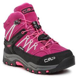 CMP Трекінгові черевики CMP Kids Rigel Mid Trekking Shoe Wp 3Q12944 Berry/Pink Fluo 05HF