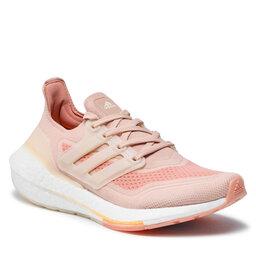 adidas Взуття adidas Ultraboost 21 W S23838 Halo Blush/Wonder White/Ambient Blush
