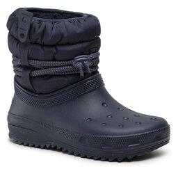 Crocs Снігоходи Crocs Classic Neo Puff Luxe Boot W 207312 Navy
