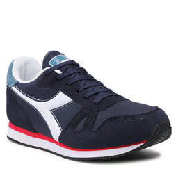 Diadora Laisvalaikio batai Diadora Simple Run 101.173745 01 C9563 Black Iris/China Blue