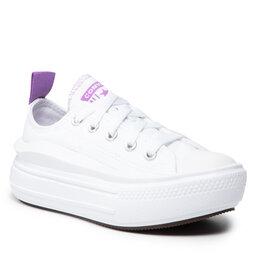 Converse Sportbačiai Converse Ctas Move Ox 371528C White/Pixel Purple/White