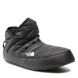 The North Face Naminės šlepetės The North Face Thermoball Traction Bootie NF0A3MKHKY4 Tnf Black/Tnf White
