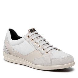 Geox Laisvalaikio batai Geox D Myria B D1668B 022PZ C1002 Off White