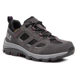Jack Wolfskin Трекінгові черевики Jack Wolfskin Vojo 3 Texapore Low W 4042451 Dark Steel/Purple
