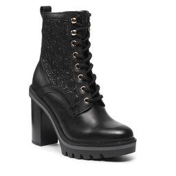 Tommy Hilfiger Aulinukai Tommy Hilfiger Monogram High Heel Boot FW0FW05997 Black BDS