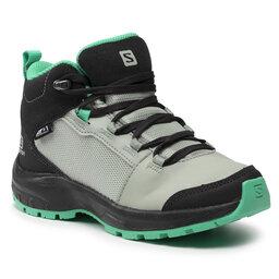 Salomon Turistiniai batai Salomon Outward Cswp J 412848 09 W0 Phantom/Aqua Gray/Mint Leaf