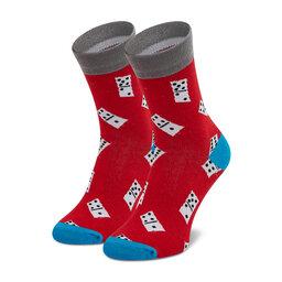 Dots Socks Високі шкарпетки unisex Dots Socks DTS-SX-409-W Червоний