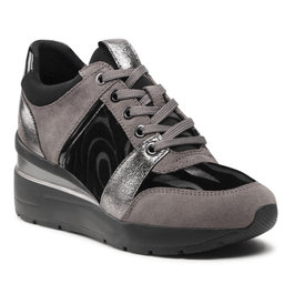 Geox Laisvalaikio batai Geox D Zosma D168LD-022FP C9002 Dk Grey