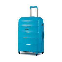 Puccini Середня валіза з тканини Puccini Bahamas PP016B 7 Blue