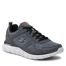 Skechers Batai Skechers Scloric 52631/CCBK Charcoal/Black