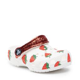 Crocs Шльопанці Crocs Classic Food Print Clog K 207150 White
