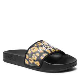 The North Face Šlepetės The North Face Base Camp Slide III NF0A4T2S28G1 Arrowwood Yellow Leopard Prink/Tnf Black