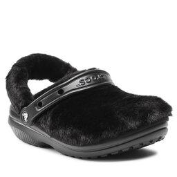 Crocs Шльопанці Crocs Classic Fur Sure 207303 Black
