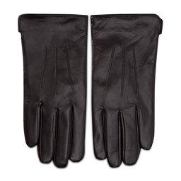 Semi Line Чоловічі рукавички Semi Line P8216-1 Коричневий