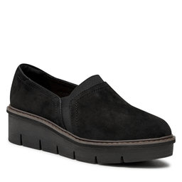 Clarks Pusbačiai Clarks Airabell Mid 261632994 Black Suede
