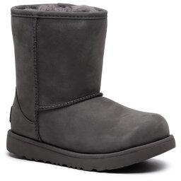 Ugg Взуття Ugg Kids' Classic Short II Wp 1019646K Grey