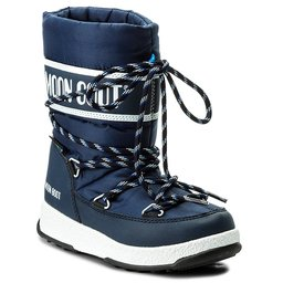 Moon Boot Снігоходи Moon Boot Sport Jr Wp 34051300002 Blue Navy/White