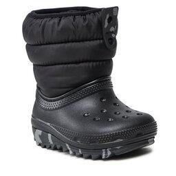 Crocs Sniego batai Crocs Classic Neo Puff Boot K 207275 Black