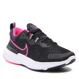 Nike Batai Nike React Miler 2 CW7136 003 Black/Hyper Pink/Cave Purple